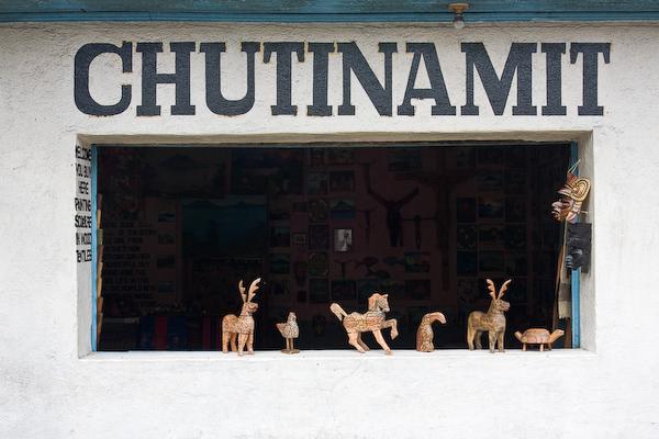 Crafts at Santiago Atitlán.