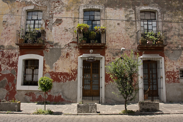 On the streets of Puebla