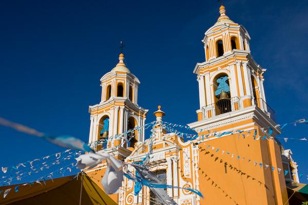 The Church of Nuestra Senora de los Remedios